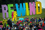 © Joel Goodman - 07973 332324. 06/08/2017 . Macclesfield , UK . Crowd at the Rewind Festival , celebrating 1980s music and culture , at Capesthorne Hall in Siddington . Photo credit : Joel Goodman