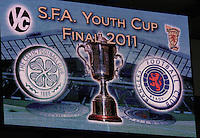 Celtic v Rangers Youth Cup Final 270411