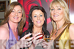 TOAST: Maria Guthrie,Mandy Hudson and Fiona Barry toasting to a great night at the John Mitchels GAA social at their club John Joe Sheehy Road, Tralee on Saturday night..   Copyright Kerry's Eye 2008