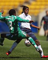 081102 FIFA Under-17 Women's Football World Cup - England v Nigeria