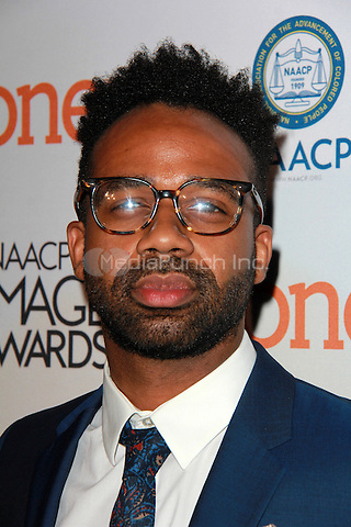 PASADENA, CA - FEBRUARY 5: Zahir McGhee at the 46th NAACP Image Awards Non-Televised Ceremony at the Pasadena Convention Center in Pasadena, California on February 5, 2015. Credit: David Edwards/Dailyceleb/MediaPunch