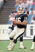 Matt Dunigan Toronto Argonauts quarterback 1991. Copyright photograph Scott Grant