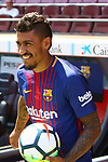 2017-08-17-Presentation of Paulinho as new player of the FC Barcelona.