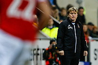 Bradford City manager Stuart McCall on the touch line during the Sky Bet League 1 match between Rotherham United and Bradford City at the New York Stadium, Rotherham, England on 23 January 2018. Photo by Thomas Gadd.