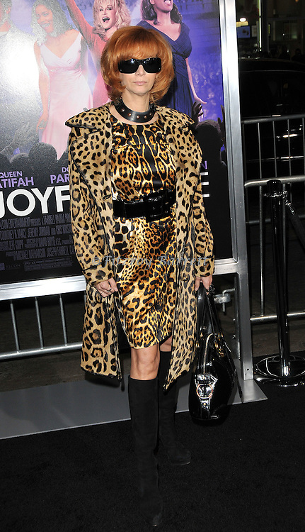 Linda Ramone at the premiere of Joyful Noise held at Grauman's  Chinese Theatre in Hollywood, CA. January 9, 2012