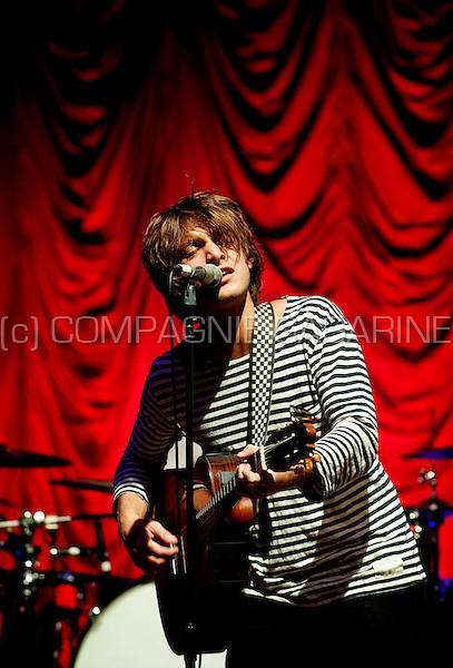 Scottish singer-songwriter Paolo Nuttini in concert at the Rivierenhof in Antwerp (Belgium, 24/08/2010)