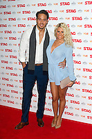 Danielle Armstrong arriving for The Stag Premiere at Vue Leicester Square, London. 13/003/2014 Picture by: Dave Norton / Featureflash