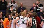 Photograph from the 2009 Mt. Rainier Lutheran High School girl's volleyball season.