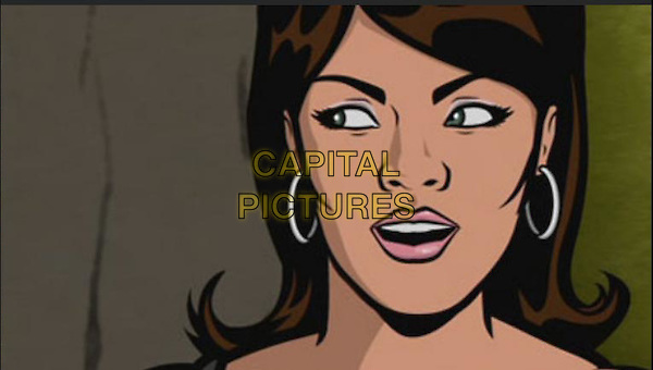 Aisha Tyler.in Archer .*Filmstill - Editorial Use Only*.CAP/NFS.Supplied by Capital Pictures.