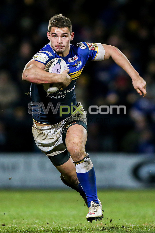 Picture by Alex Whitehead/SWpix.com - 26/02/2015 - Rugby League - First Utility Super League - Leeds Rhinos v Huddersfield Giants - Headingley Carnegie Stadium, Leeds, England - Leeds' Stevie Ward in action.