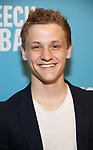 Ben Cook attends Broadway Red Carpet Premiere of 'Speech & Debate'  at the American Airlines Theatre on April 2, 2017 in New York City.
