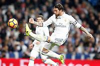 Real Madrid's Sergio Ramos during La Liga match. March 1,2017. (ALTERPHOTOS/Acero) /NORTEPHOTOmex