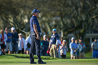 Phil Mickelson (USA) watches his putt on 11 during round 2 of the Arnold Palmer Invitational at Bay Hill Golf Club, Bay Hill, Florida. 3/8/2019.<br /> Picture: Golffile | Ken Murray<br /> <br /> <br /> All photo usage must carry mandatory copyright credit (&copy; Golffile | Ken Murray)