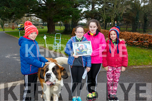 Ready for the Junior Parkrun in the Tralee Town park on Sunday morning last.<br /> L-r, Rachel Mulgrew, Jane, Anna and Ruth Lynch.