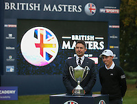 Matthew Fitzpatrick (ENG) wins the Final Round of the British Masters 2015 supported by SkySports played on the Marquess Course at Woburn Golf Club, Little Brickhill, Milton Keynes, England.  11/10/2015. Picture: Golffile | David Lloyd<br /> <br /> All photos usage must carry mandatory copyright credit (© Golffile | David Lloyd)