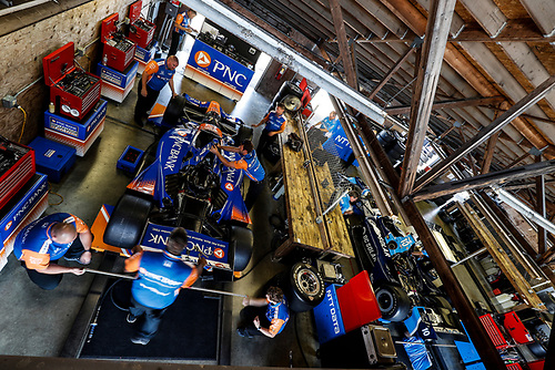 Scott Dixon, Chip Ganassi Racing Honda, Ed Jones, Chip Ganassi Racing Honda