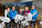 Pictured on Sunday morning last at Tralee Bay Wetlands Year of the Bee 2019  workshop for St Patrick's Day Parade supported by Kerry County Council Street Spectacle training and engagement project, supported by Creative Ireland, l-r: Caoimhe Dunn (Lead Artist), Kieran Galwey (Tralee Bay Wetlands Centre), Con O'Shea, Joe Moynihan (Tidy Street Together) and David McGillycuddy (Tralee Bay Wetlands Centre).