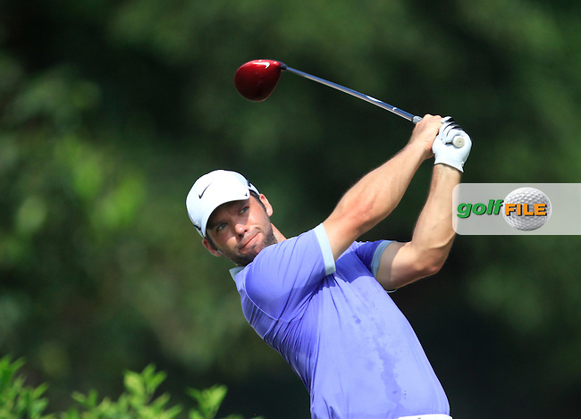 Paul Casey (ENG) on the 7th tee during Round 4 of the CIMB Classic in the Kuala Lumpur Golf &amp; Country Club on Sunday 2nd November 2014.<br /> Picture:  Thos Caffrey / www.golffile.ie
