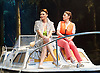 Way Up Stream <br /> by Alan Ayckbourn <br /> <br /> at The Festival Theatre Chichester, Great Britain <br /> <br /> 27th April 2015 <br /> <br /> Press photocall <br /> <br /> Sarah Parish as June <br /> Jill Halfpenny as Emma <br /> <br /> Photograph by Elliott Franks <br /> Image licensed to Elliott Franks Photography Services