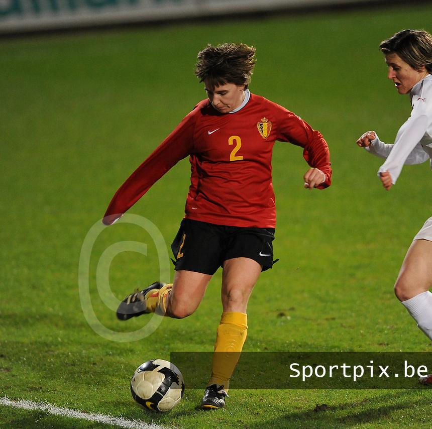 Belgium - Czech Republic : Hanne Van De Goor.foto DAVID CATRY / Vrouwenteam.be