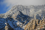 San Jacinto Mountains in winter
