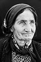 "Amina Abdel Majid Suleyman, about 70, from Kobani at Rojava refugee camp in Suruc, Turkey, October 25, 2014. She's the mother of 7 children and cares for two grandchildren whose mother died. ""I was tattooed as a baby, probably I was about 6 months old"""