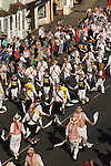 Morris dancing The Thaxted Morris Ring Thaxted Essex England