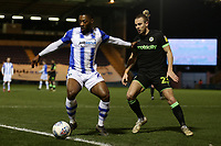 Ryan Jackson of Colchester United and Joseph Mills of Forest Green Rovers during Colchester United vs Forest Green Rovers, Sky Bet EFL League 2 Football at the JobServe Community Stadium on 12th March 2019