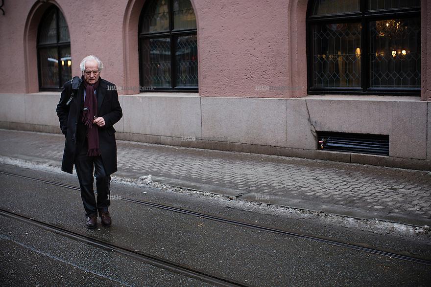 Oslo, Norge 13.01.2015. William Nygaard d.y. (født 16. mars 1943 i Oslo) er tidligere forlagssjef og administrerende direktør i forlaget Aschehoug. Foto: Christopher Olssøn.