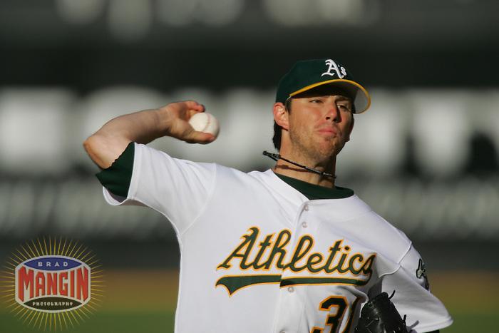 Kirk Saarloos. Chicago White Sox vs Oakland Athletics. Oakland, CA 7/2/2005 MANDATORY CREDIT: Brad Mangin