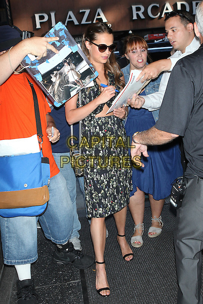 NEW YORK, NY - JULY 21: Alicia Vikander seen on July 21, 2016 in New York City. <br /> CAP/MPI/DC<br /> &copy;DC/MPI/Capital Pictures