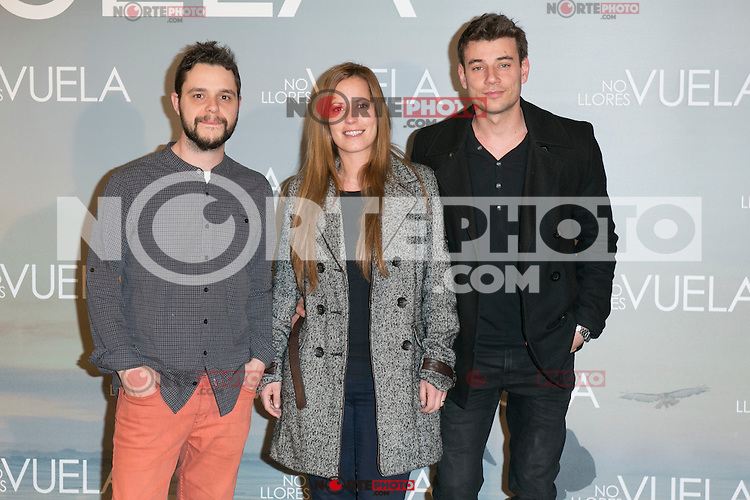 "El Mundo de Murphy attends Claudia´s Llosa ""No Llores Vuela"" movie premiere at Callao Cinema, Madrid,  Spain. January 21, 2015.(ALTERPHOTOS/)Carlos Dafonte) /NortePhoto<br />