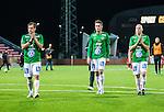 S&ouml;dert&auml;lje 2015-10-05 Fotboll Superettan Syrianska FC - J&ouml;nk&ouml;pings S&ouml;dra :  <br /> J&ouml;nk&ouml;ping S&ouml;dras Fredric Fendrich , Daryl Smylie och Viktor R&ouml;nneklev deppar efter matchen mellan Syrianska FC och J&ouml;nk&ouml;pings S&ouml;dra <br /> (Foto: Kenta J&ouml;nsson) Nyckelord:  Syrianska SFC S&ouml;dert&auml;lje Fotbollsarena J&ouml;nk&ouml;ping S&ouml;dra J-S&ouml;dra depp besviken besvikelse sorg ledsen deppig nedst&auml;md uppgiven sad disappointment disappointed dejected