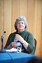 A S Byatt  ,writer at The Oxford Literary Festival 2011 in Christchurch,  Oxford UK. CREDIT Geraint Lewis
