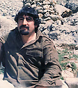 Iraq 1979 .Hama Haji Mahmoud  in the mountains of Surien .Irak 1979 .Hama Haji Mahmoud dans les montagnes de Surien
