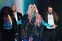 Kesha performs during the show of the 2017 MTV Europe Music Awards, EMAs, at SSE Arena, Wembley, in London, Great Britain, on 12 November 2017. Photo: Hubert Boesl <br />