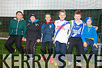 St Mary's Supporters enjoying the South Kerry Final in the Con Keating Park Cahersiveen on Saturday were l-r; Timothy O'Sullivan, Fionn O'Connell, Daragh O'Shea, Tadhg O'Connor, Austin Murphy & Mark O'Connor.
