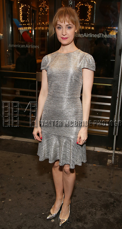 """Erin Davie Attends the Broadway Opening Night of """"All My Sons"""" at The American Airlines Theatre on April 22, 2019  in New York City."""