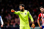 Goalkeeper Miguel Angel Moya of Real Sociedad in action during the La Liga 2018-19 match between Atletico de Madrid and Real Sociedad at Wanda Metropolitano on October 27 2018 in Madrid, Spain.  Photo by Diego Souto / Power Sport Images