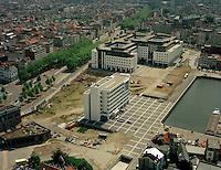 Augustus 1994. Eilandje in Antwerpen.