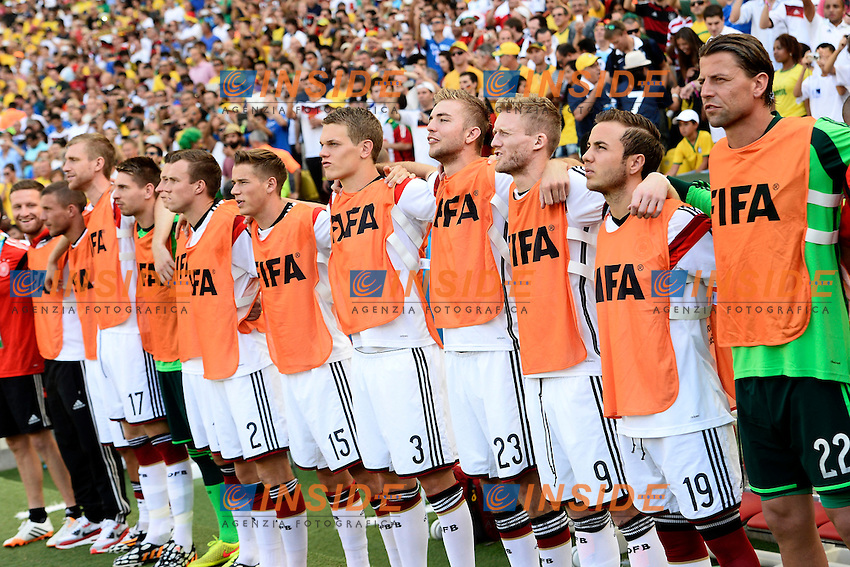 Germany players <br /> Rio de Janeiro (Brasile) 04-07-2014 Maracana Quarter-Finals / Quarti di finale France - Germany / Francia - Germania. Football 2014 Fifa World Cup Brazil - Campionato del Mondo di Calcio  Brasile 2014 <br /> Foto Insidefoto