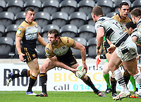 PICTURE BY VAUGHN RIDLEY/SWPIX.COM - Rugby League - Super League - Hull FC v Wigan Warriors - KC Stadium, Hull, England - 22/04/12 - Wigan's Pat Richards.