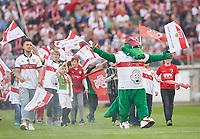 VFB Maskottchen Fritzle ,<br /> VFB STUTTGART - FC AUGSBURG 0-0<br /> Football 1. Bundesliga , Stuttgart,23.09.2017, 6. match day,  2017/2018, 1.Liga, 1.Bundesliga,<br />  *** Local Caption *** © pixathlon<br /> Contact: +49-40-22 63 02 60 , info@pixathlon.de