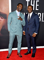 """LOS ANGELES, CA: 24, 2020: Aldis Hodge & Edwin Hodge at the premiere of """"The Invisible Man"""" at the TCL Chinese Theatre.<br /> Picture: Paul Smith/Featureflash"""