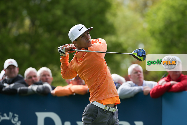 Thorbjorn Olesen (DEN) during Round One of the 2016 Dubai Duty Free Irish Open Hosted by The Rory Foundation which is played at the K Club Golf Resort, Straffan, Co. Kildare, Ireland. 19/05/2016. Picture Golffile | David Lloyd.<br /> <br /> All photo usage must display a mandatory copyright credit as: &copy; Golffile | David Lloyd.