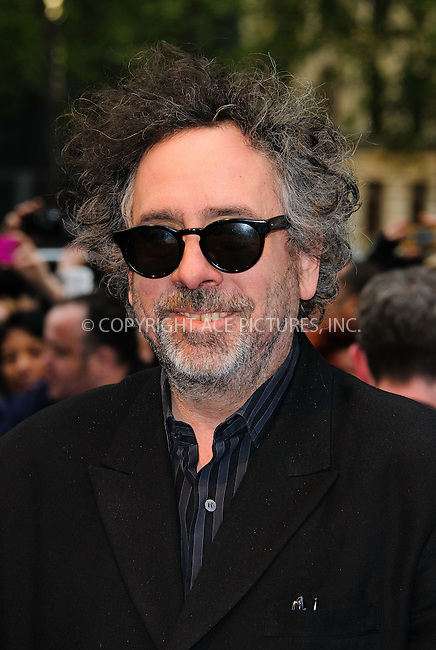 WWW.ACEPIXS.COM . . . . .  ..... . . . . US SALES ONLY . . . . .....May 9 2012, London....Tim Burton at the premiere of 'Dark Shadows' held at The Empire Cinema on May 9 2012 in London ....Please byline: FAMOUS-ACE PICTURES... . . . .  ....Ace Pictures, Inc:  ..Tel: (212) 243-8787..e-mail: info@acepixs.com..web: http://www.acepixs.com