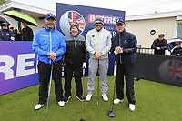 Lee Westwood (ENG) and team during the Hero Pro-am at the Betfred British Masters, Hillside Golf Club, Lancashire, England. 08/05/2019.<br /> Picture Fran Caffrey / Golffile.ie<br /> <br /> All photo usage must carry mandatory copyright credit (&copy; Golffile | Fran Caffrey)