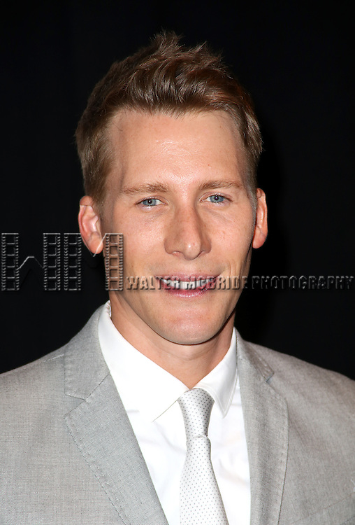 Dustin Lance Black backstage at 'Uprising Of Love: A Benefit Concert For Global Equality' at the Gershwin Theatre on September 15, 2014 in New York City.