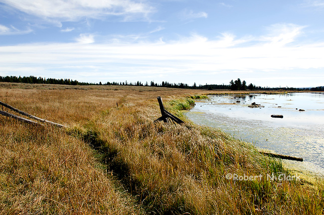 "The Henry's Fork of the Snake River in the fall at the area known as the ""gravel pit"""