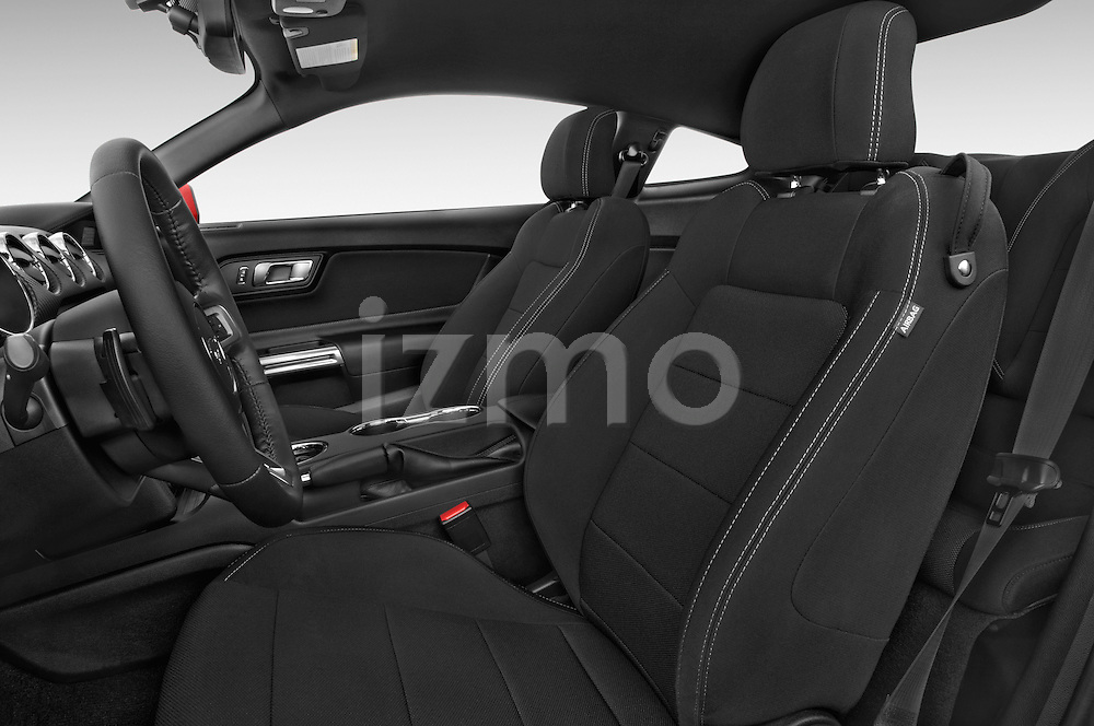 Front seat view of a 2017 Ford Mustang V6 2 Door Coupe Front Seat car photos